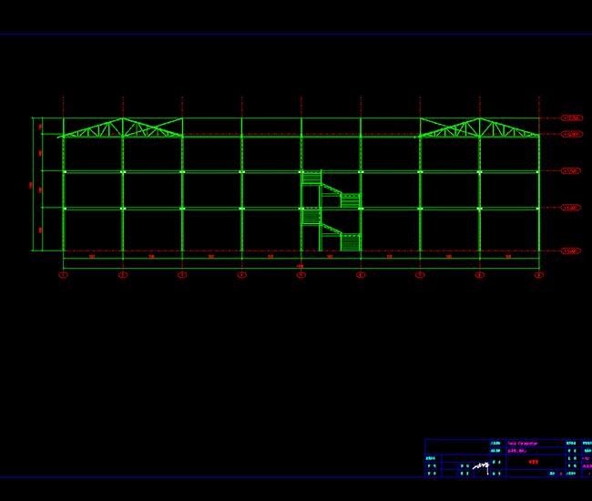钢结构效果图3