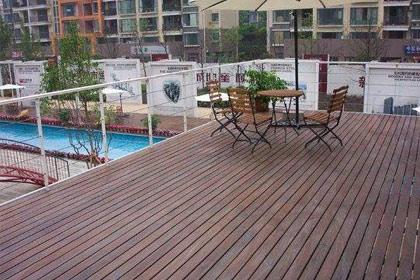 重庆防腐木地板