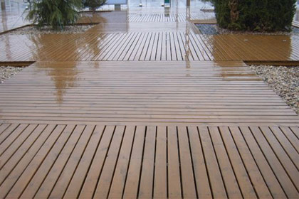 重庆防腐木地板厂家