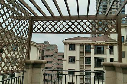 重庆防腐木花架安装