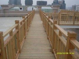 防腐木栏杆制品