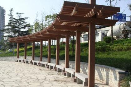 重庆防腐木长廊厂家