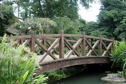重庆防腐木木桥安装