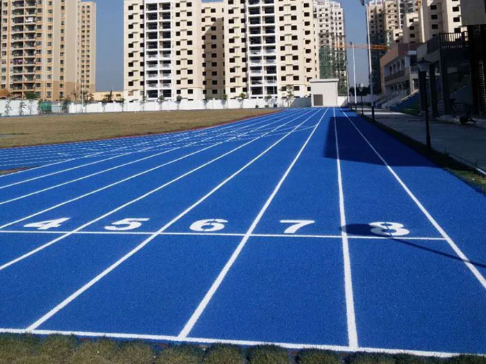 校园操场跑道