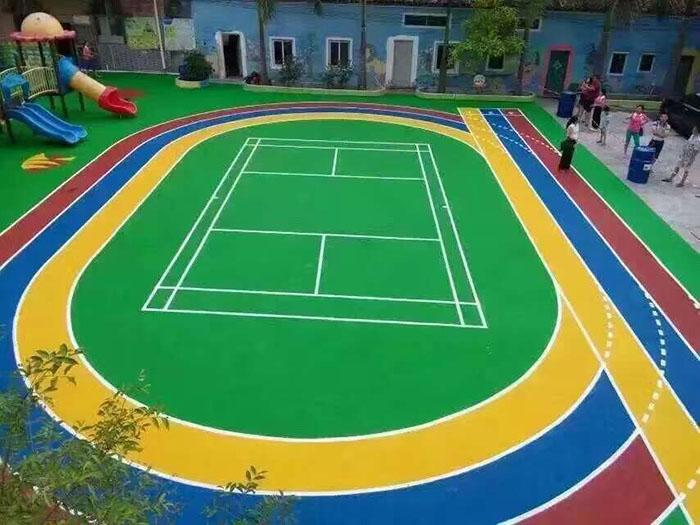 幼儿园室外塑胶地坪