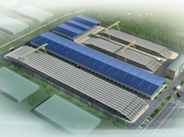 钢结构工厂搭建