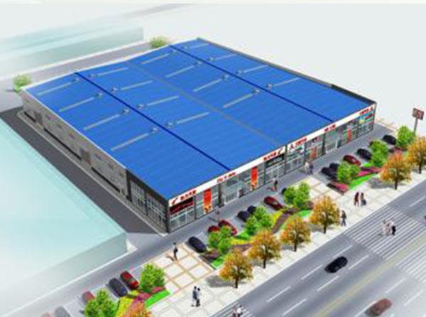 钢结构商场