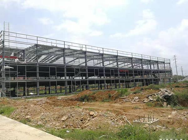 大型楼房钢结构