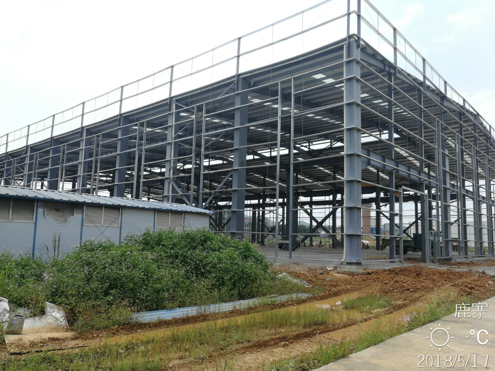 广西钢结构厂房搭建_哪里有大型钢结构加工厂