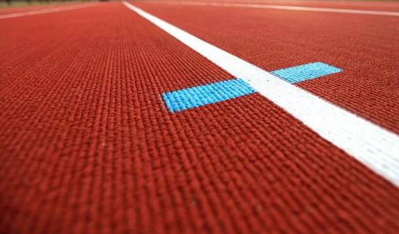 紋理型塑膠跑道