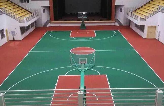 貴州丙烯酸籃球場