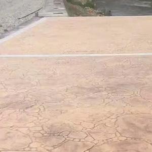貴州壓花地坪的工藝和材料是怎樣的你知道嗎?