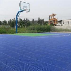 懸浮塑膠籃球場