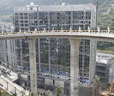 中天未來方舟橋架安裝案例