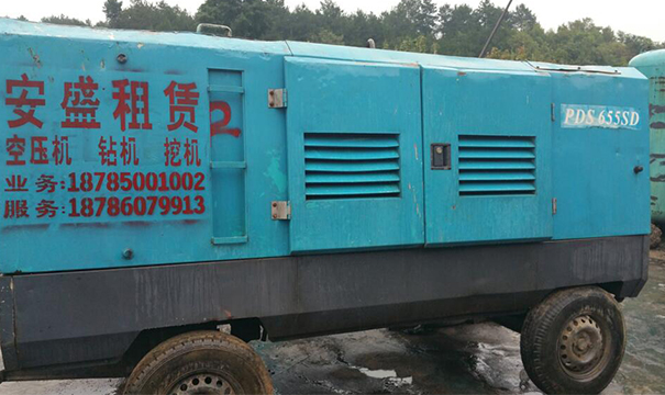 PDS655SD柴油移动式空压机