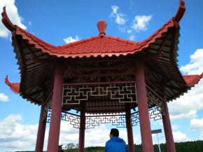 建瓯市湖头旅游度假村树脂瓦四脚亭选择高亿美!