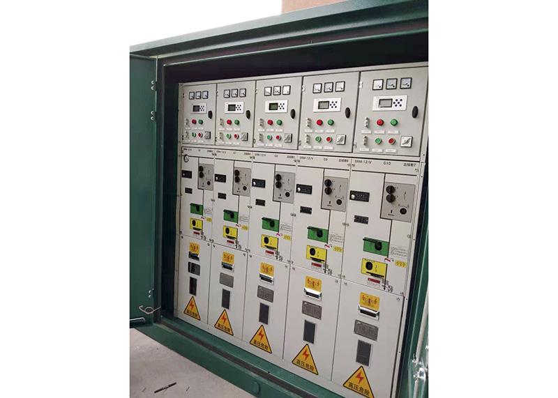 SRM-12绝缘金属封闭组合式高压充气柜