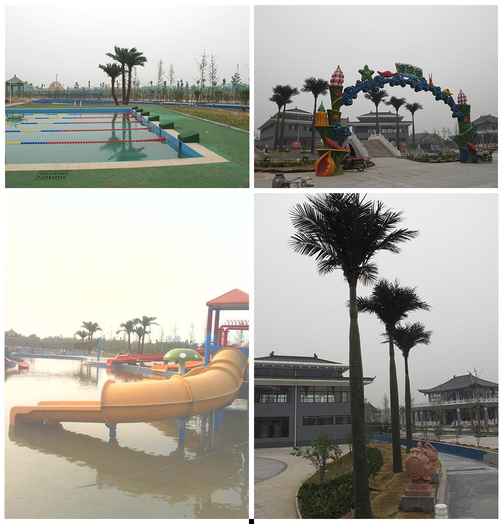 山东东蒙集团游乐园室外造景