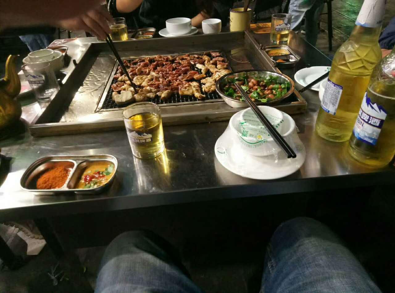 贵州野外烧烤桌批发