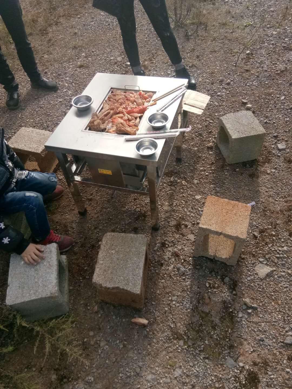 小型-野外烧烤桌