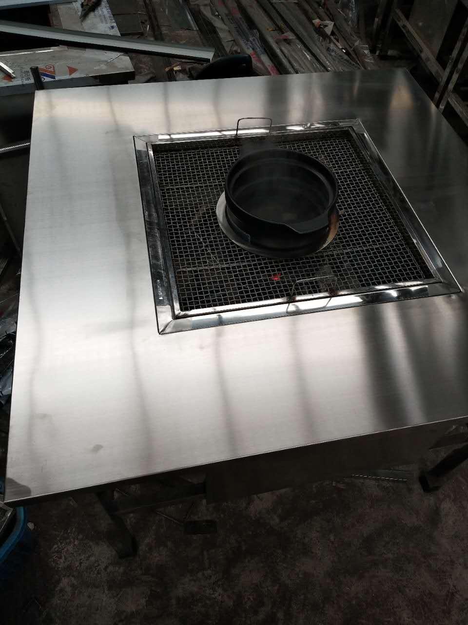 使用无烟烧烤桌能够满足任意区域的油烟低排要求