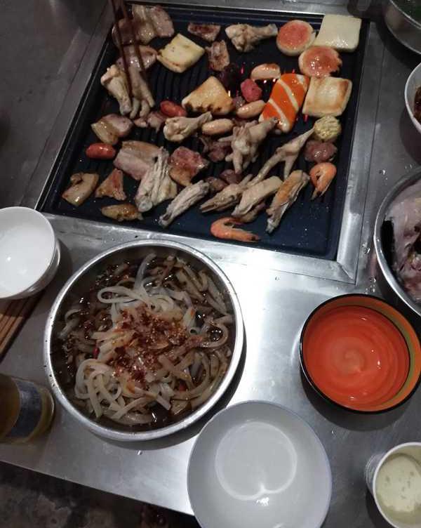贵州野外烧烤桌