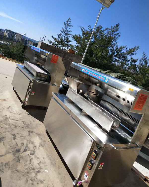 不锈钢无烟净化烧烤车