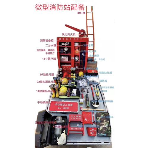 微型消防站配备