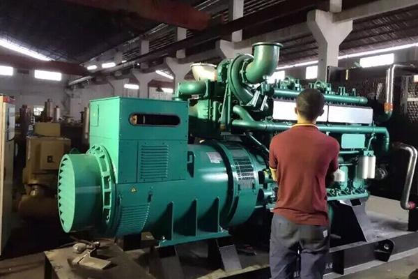 發電機出售案例——貴陽發電機組安裝