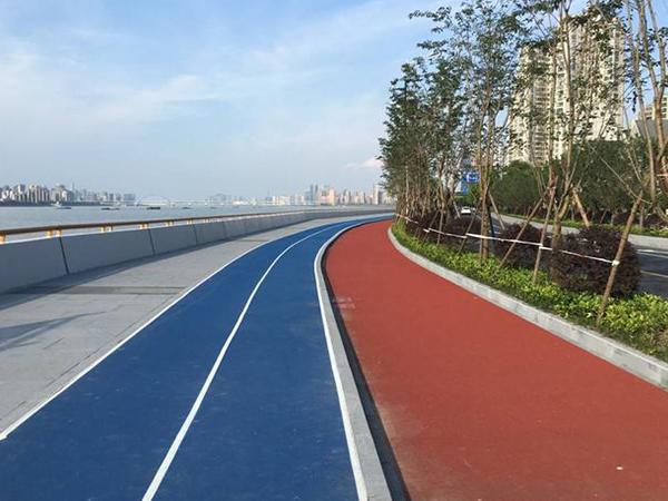 广元彩色沥青路面