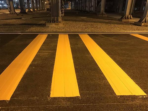 广元沥青路面标线施工
