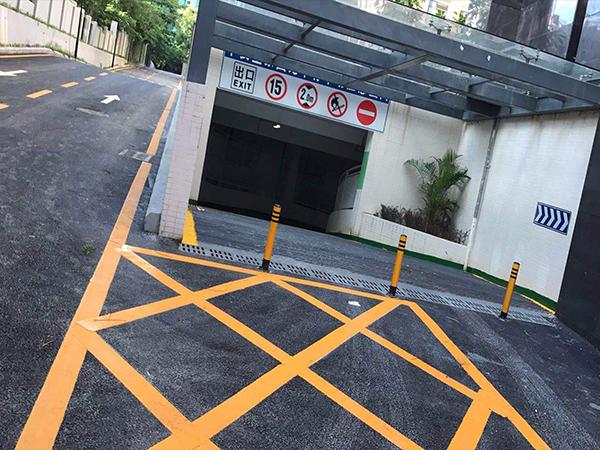 广元停车场路面标线