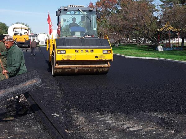 小区沥青路面修复
