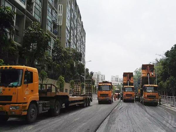 广元小区沥青路面修复