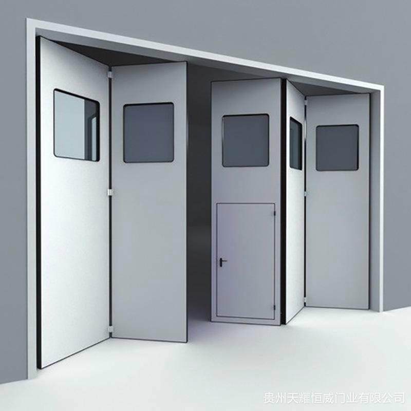 自动折叠门安装现场