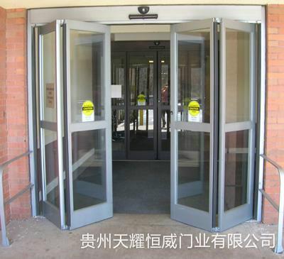 自动折叠门安装案例