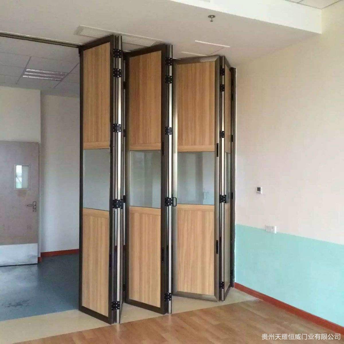 自动重叠门安装案例