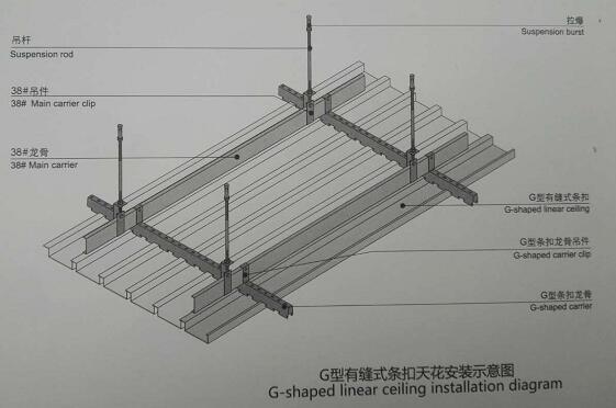 六盘水铝天花板