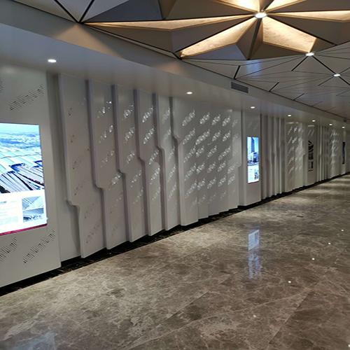 冲孔铝单板幕墙案例