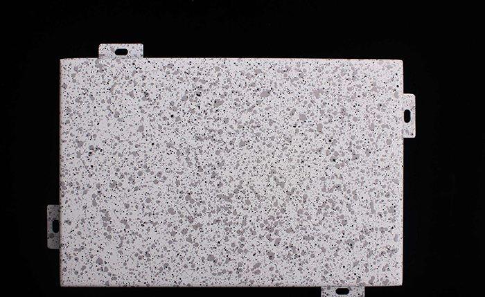 仿石材铝单板安装