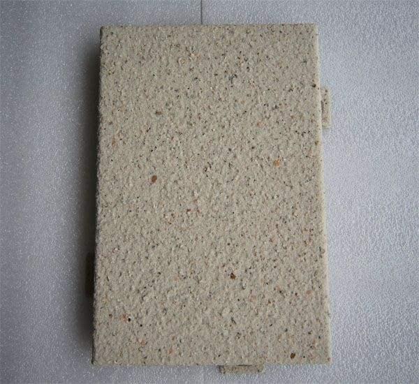 丽江仿石材铝单板