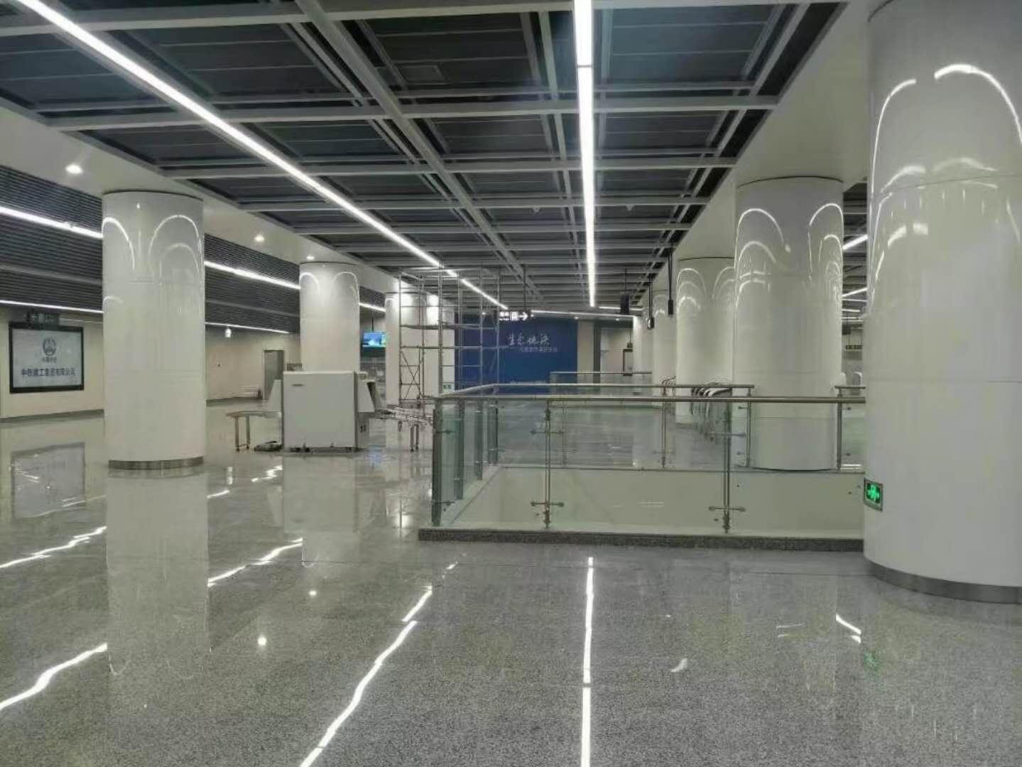 铝单板幕墙实例——云南地铁三号线