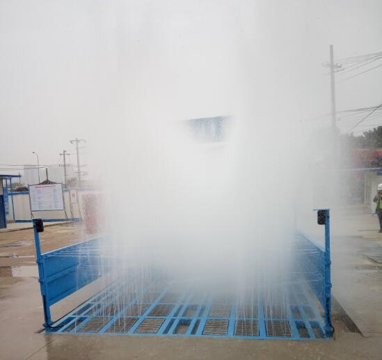 贵州五建工程洗轮机安装案例