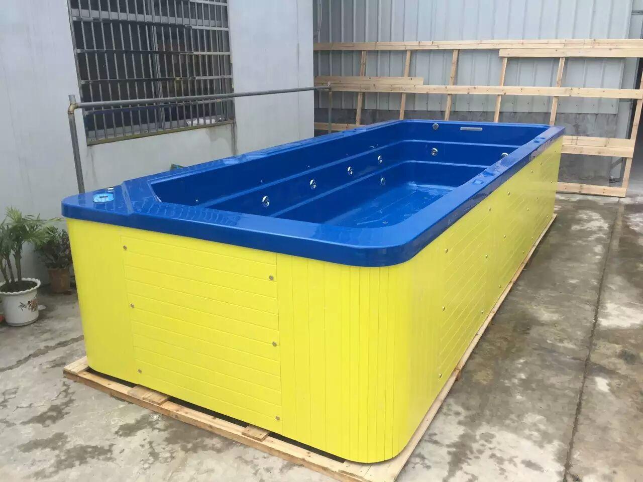 内蓝外黄一体池