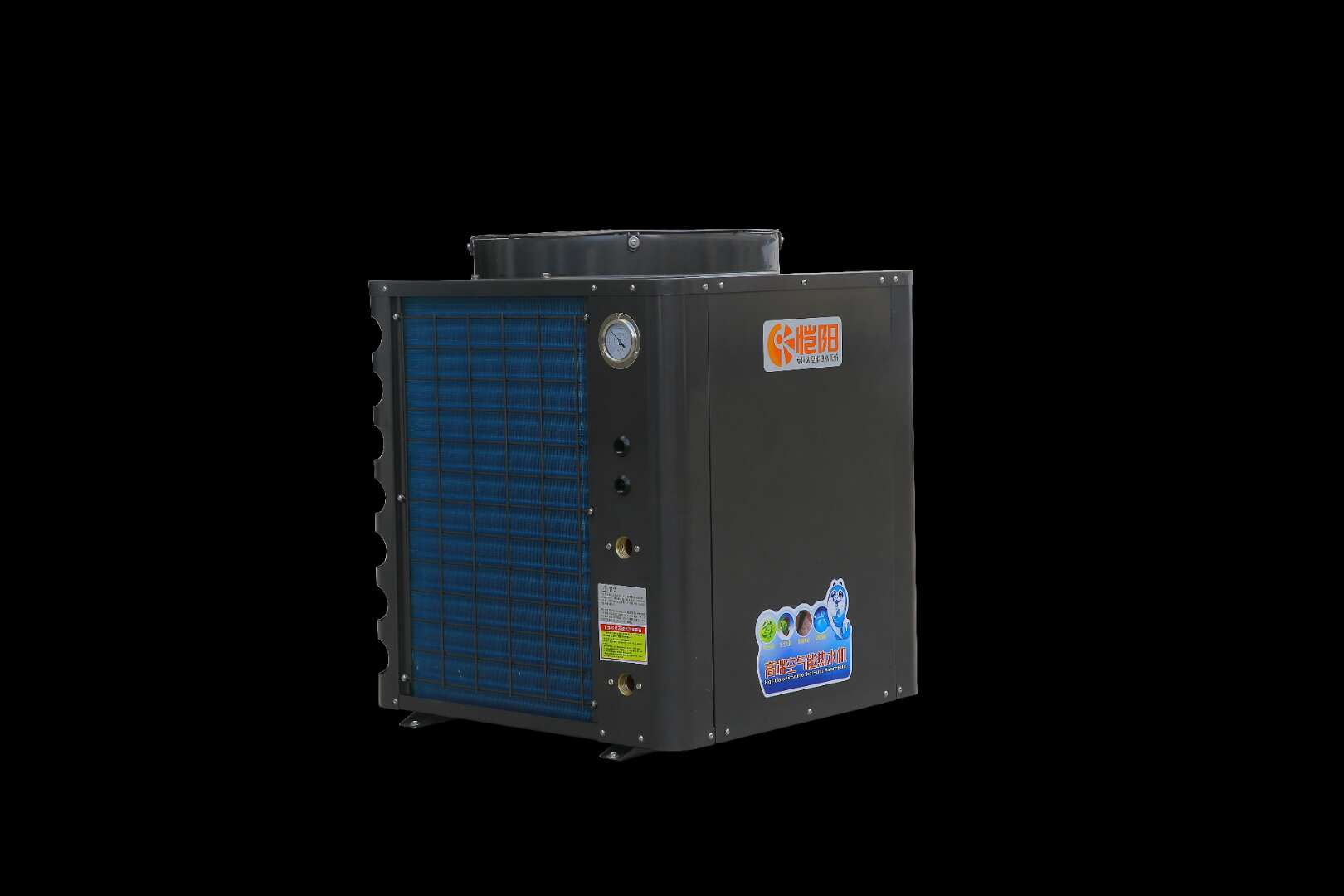 380V/5P顶吹商用常温循环式空气能