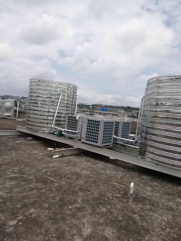 贵阳空气能热水器安装案例——艺百大美艺术学校