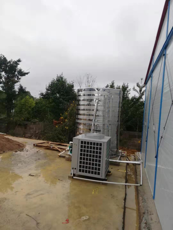 中铁十局工地空气能热水器安装案例