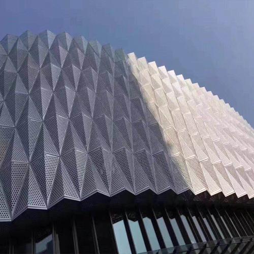 鋁單板幕墻外墻裝飾案例