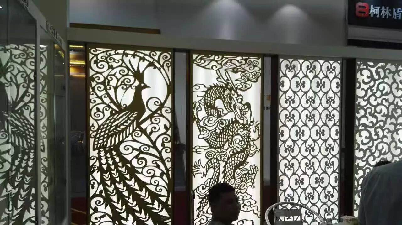 雕花鋁單板案例展示