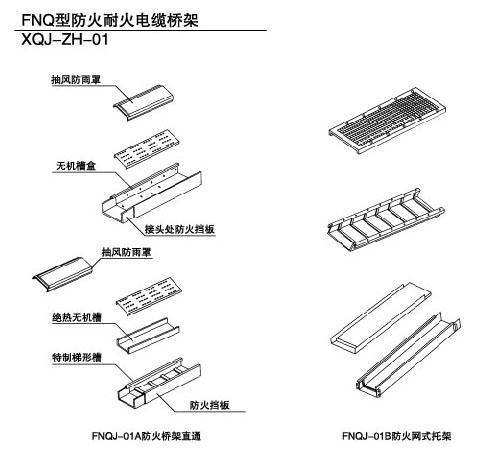 FNQ型防火耐火桥架